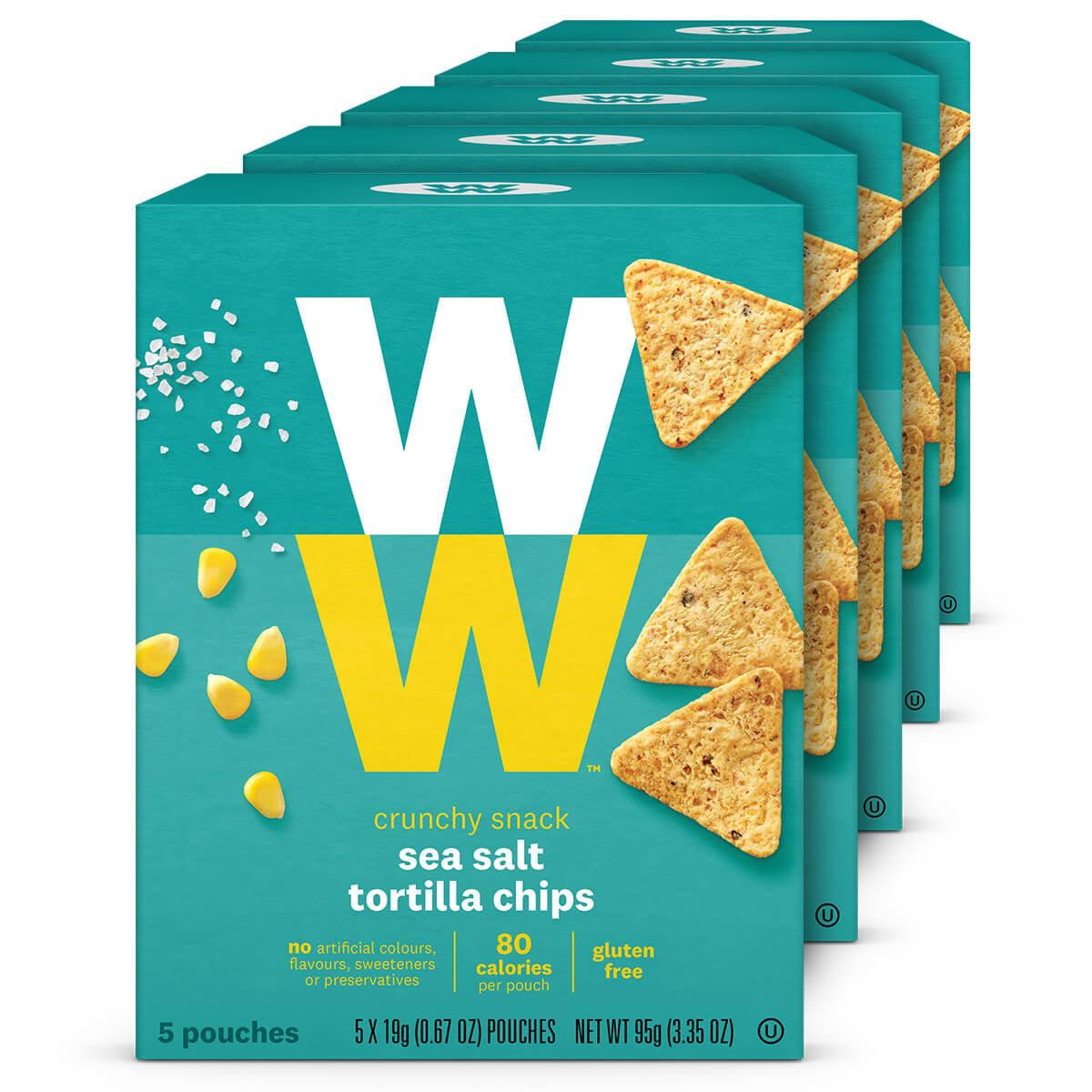 Sea Salt Tortilla Chips (5 Pack)