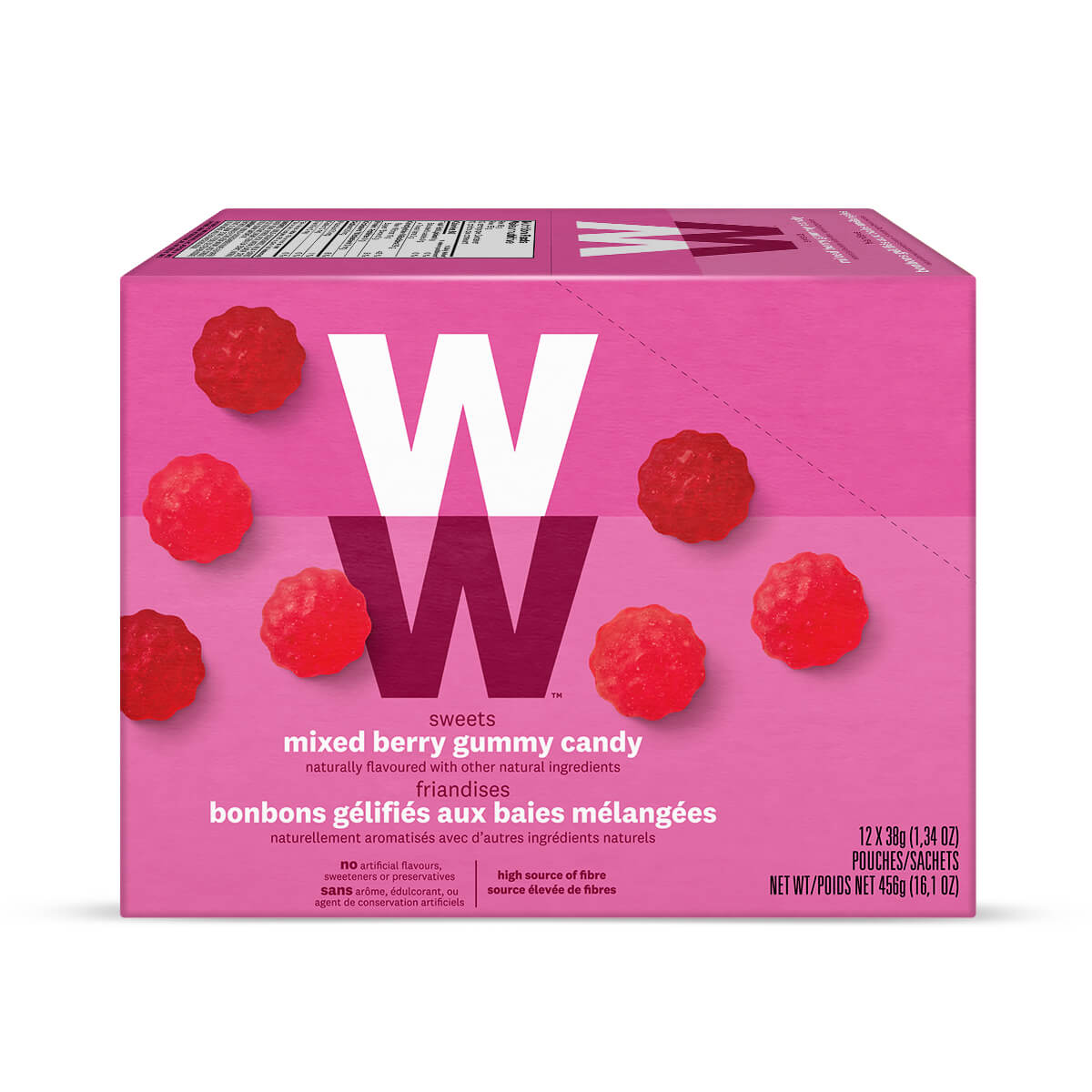 WW Sweets Mixed Berry (Box of 12)