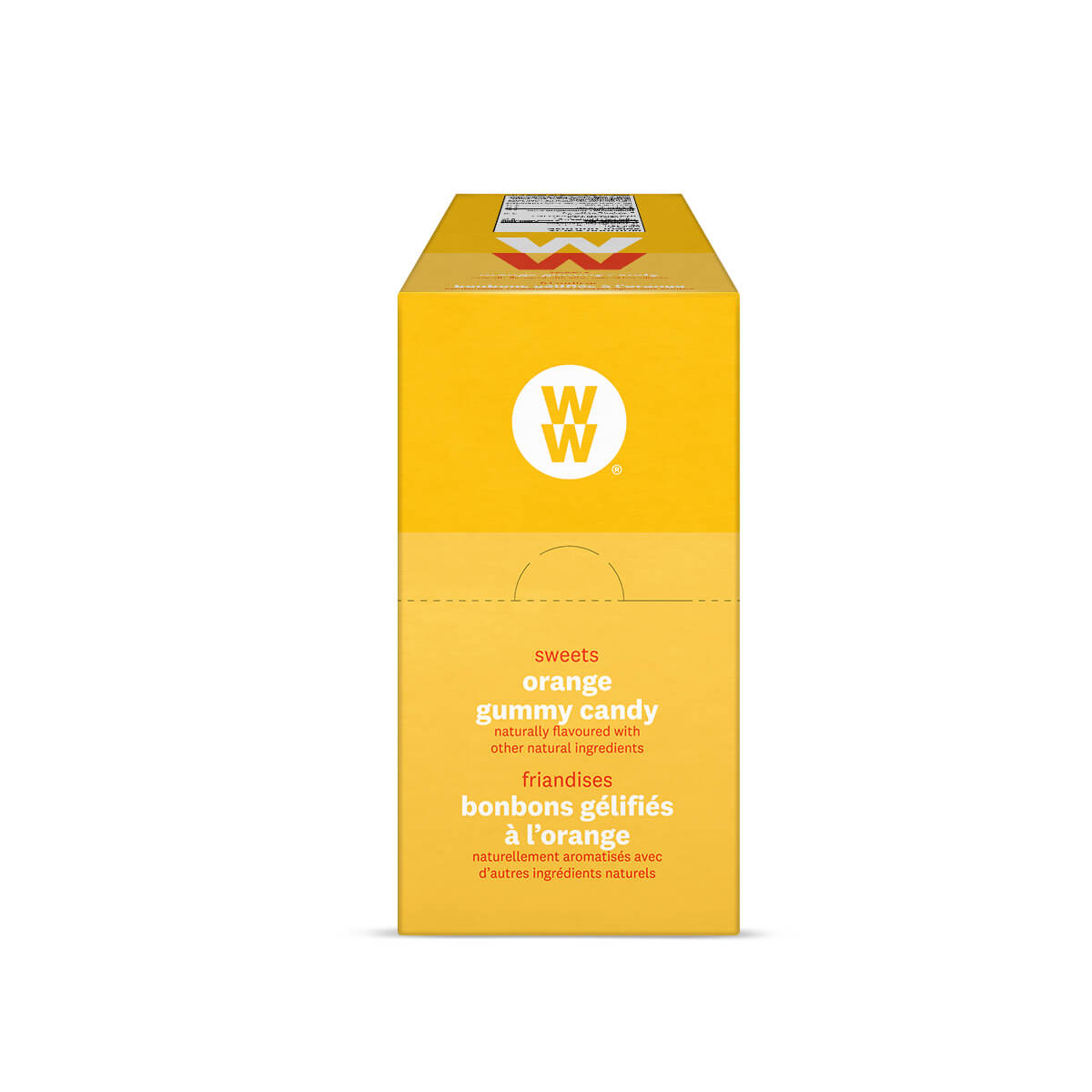 WW Sweets Orange (Box of 12)  - side of the box