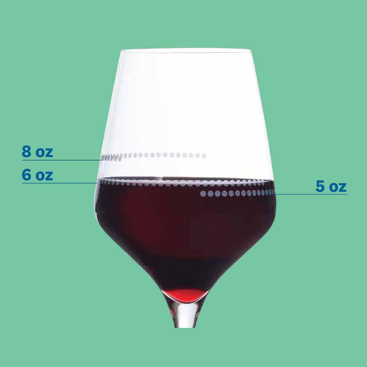 WW Portion Control Wine Glass Set - alternate view 2