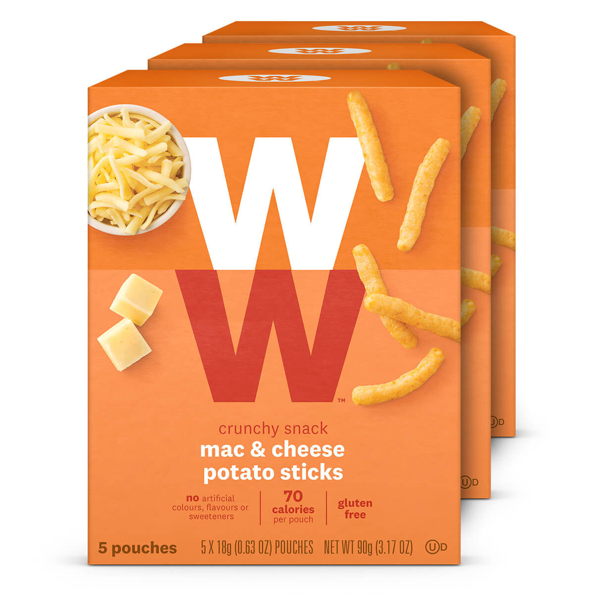 Mac and Cheese Potato Sticks (3-Pack)