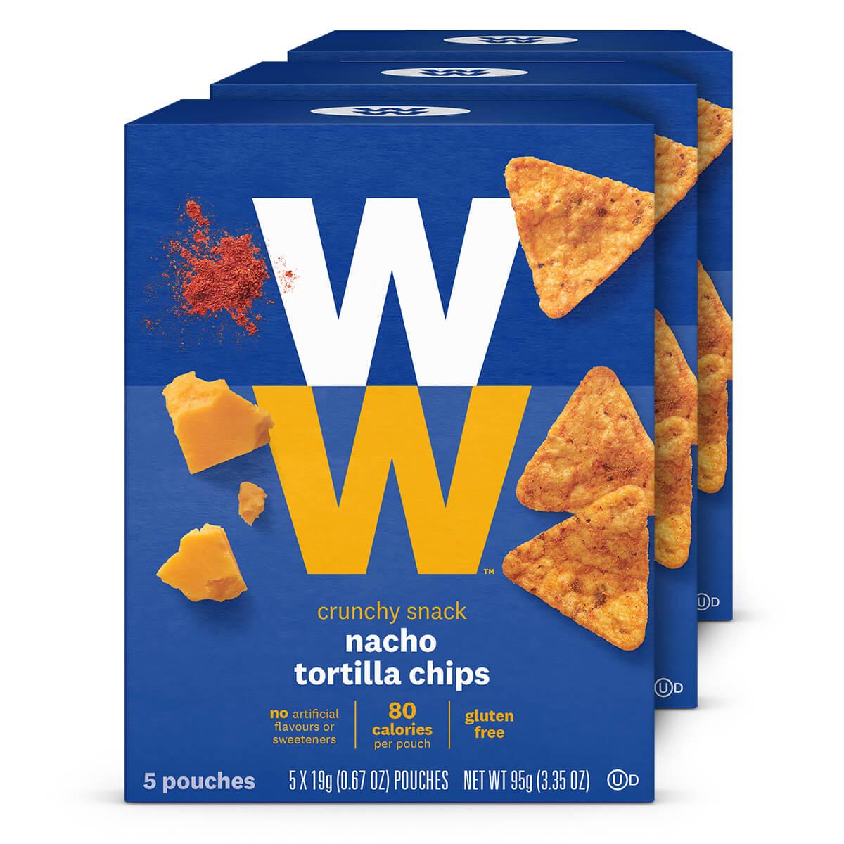 Nacho Tortilla Chips (3 Pack)