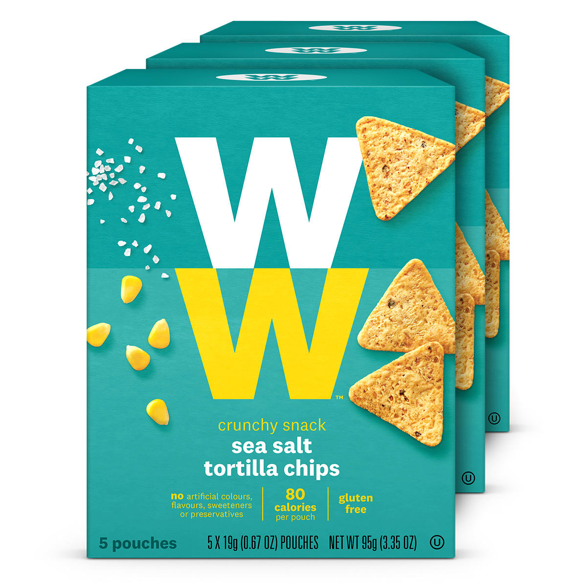 Sea Salt Tortilla Chips (3 Pack)