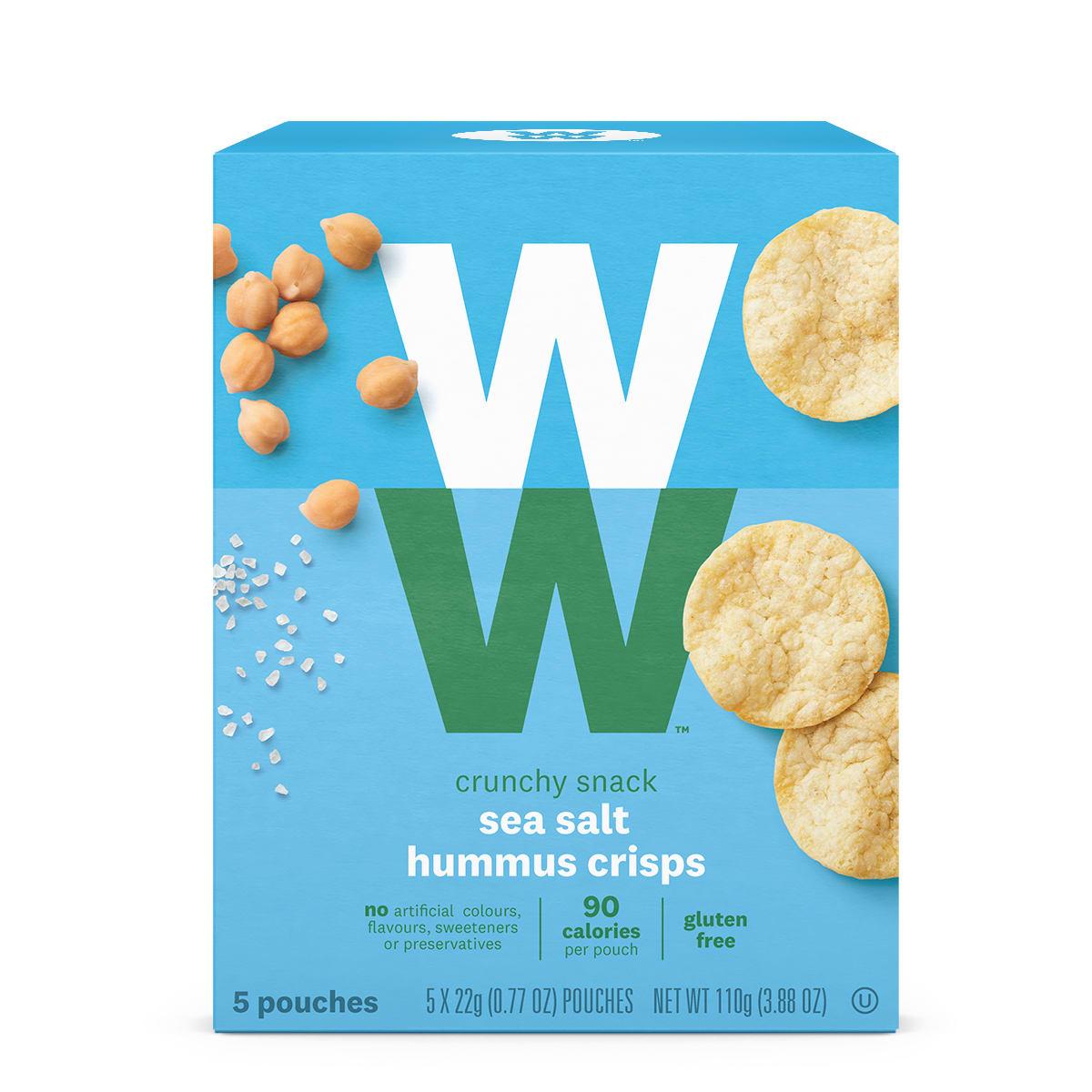 Sea Salt Hummus Crisps