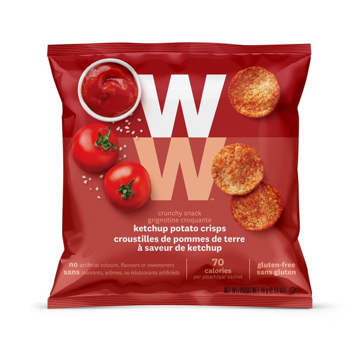 Ketchup Potato Crisps - Pack Front