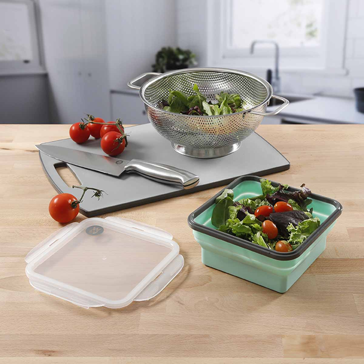 """6.25"""" Silicone Portion Control Container - alternate view 4"""