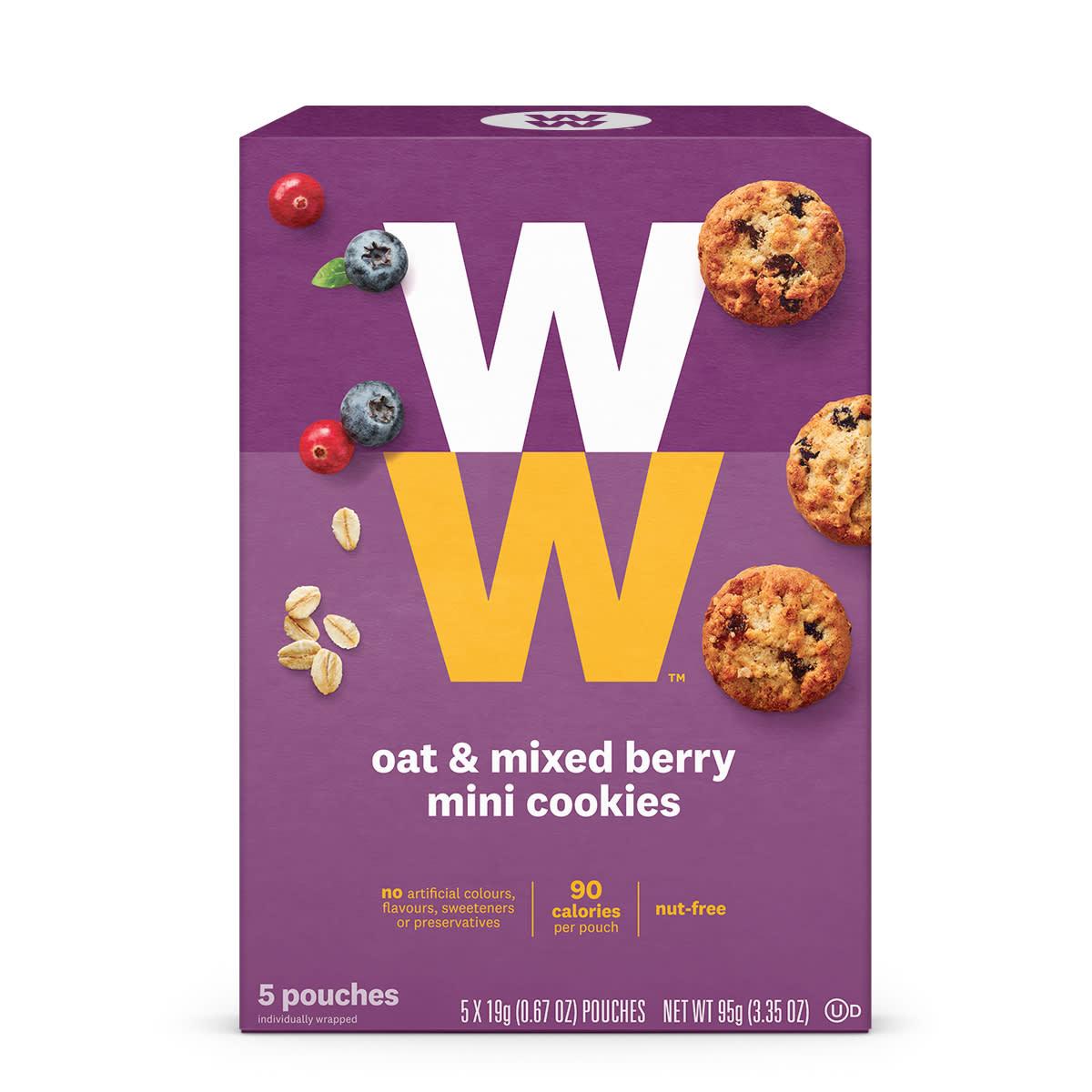 Oat & Mixed Berry Mini Cookies