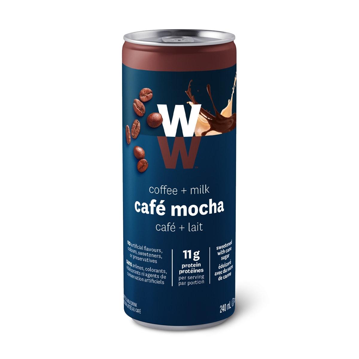 WW Cafe Mocha, Single Can Front