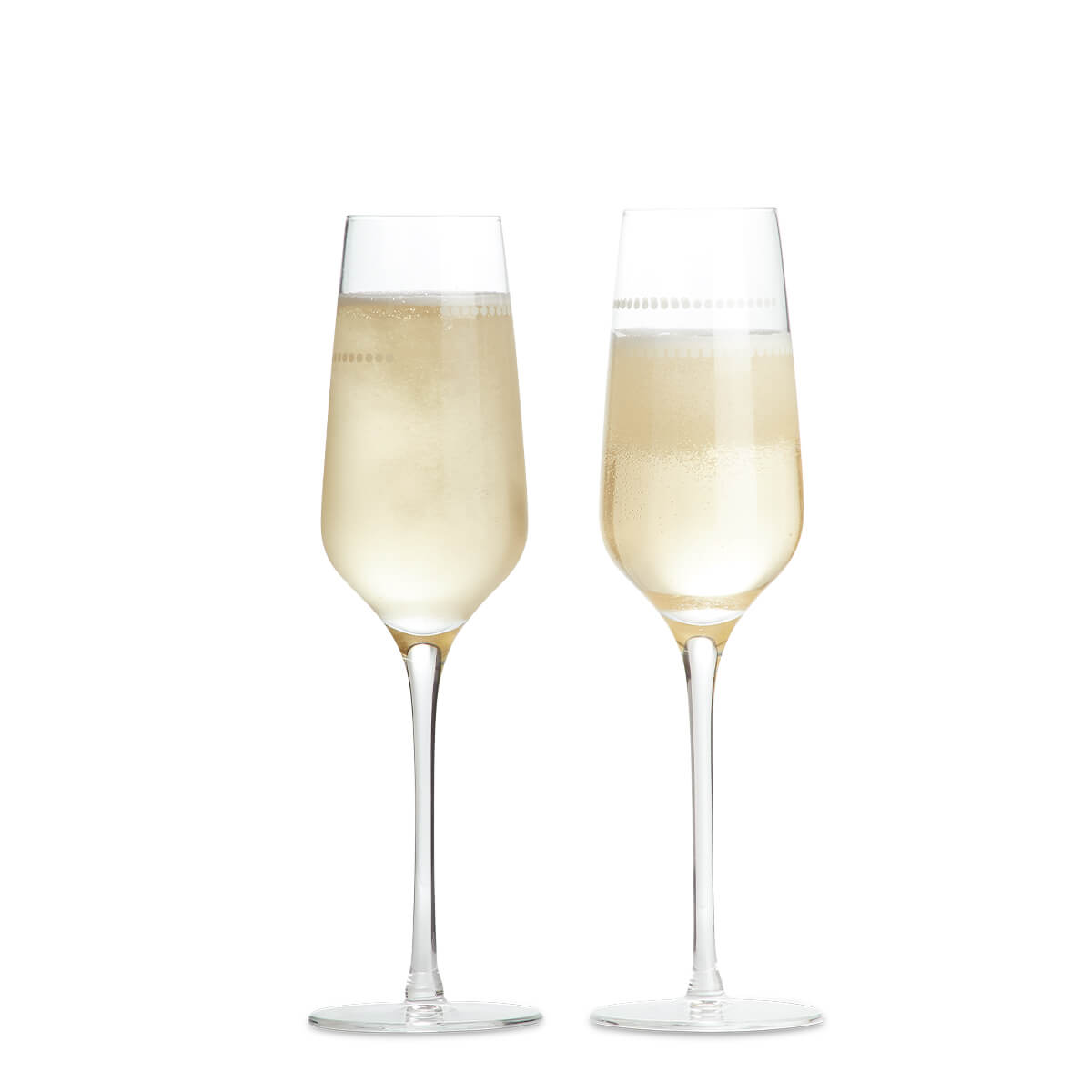 Portion Control Champagne Flutes