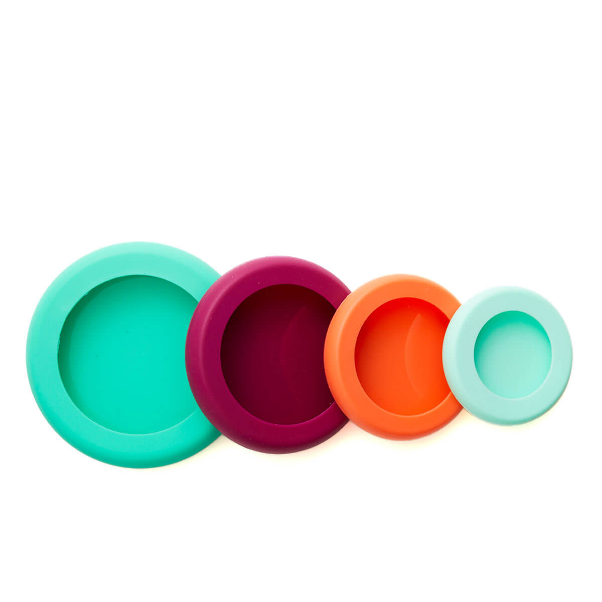 Silicone Food Huggers - four