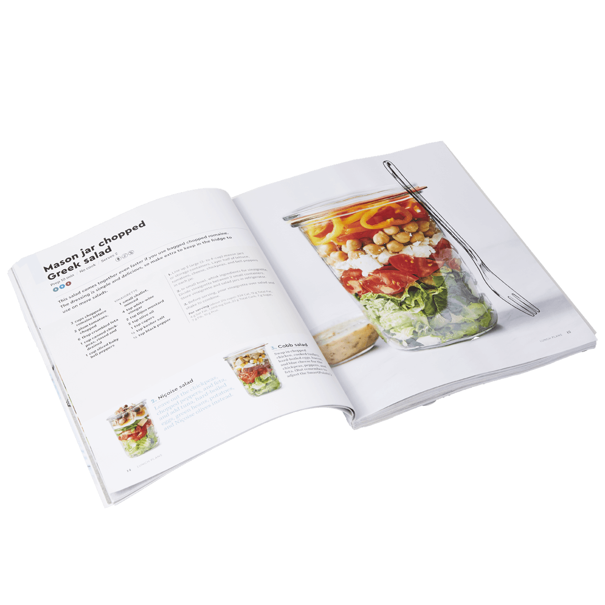 Lunch Plans Cookbook - page 2
