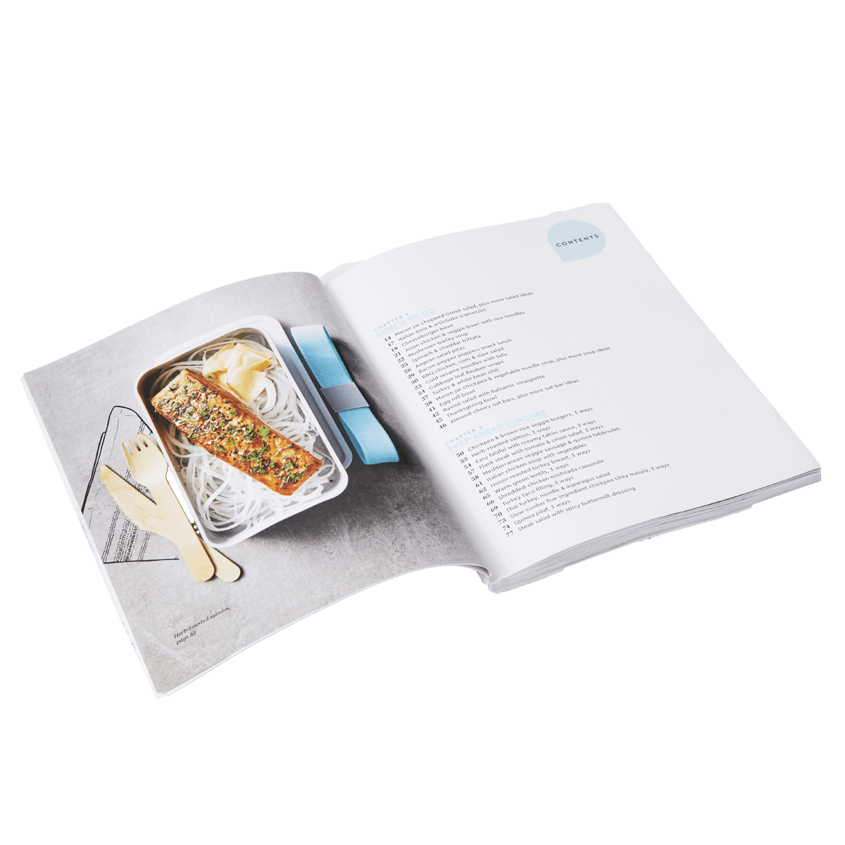 Lunch Plans Cookbook - page 3