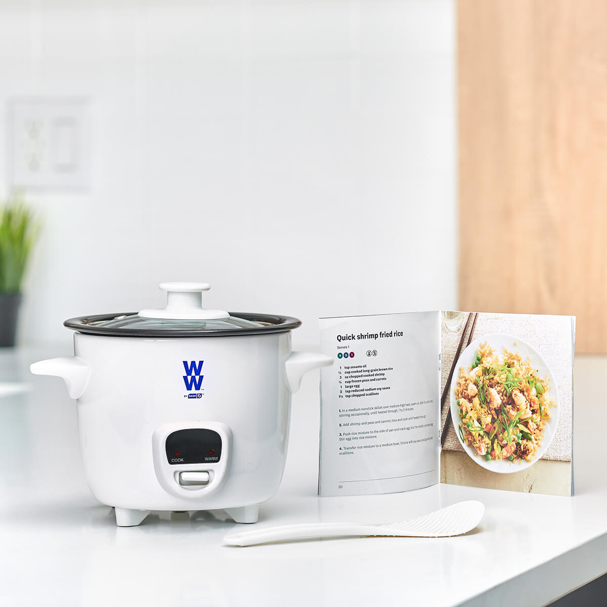 WW by Dash Mini Rice Cooker - lifestyle