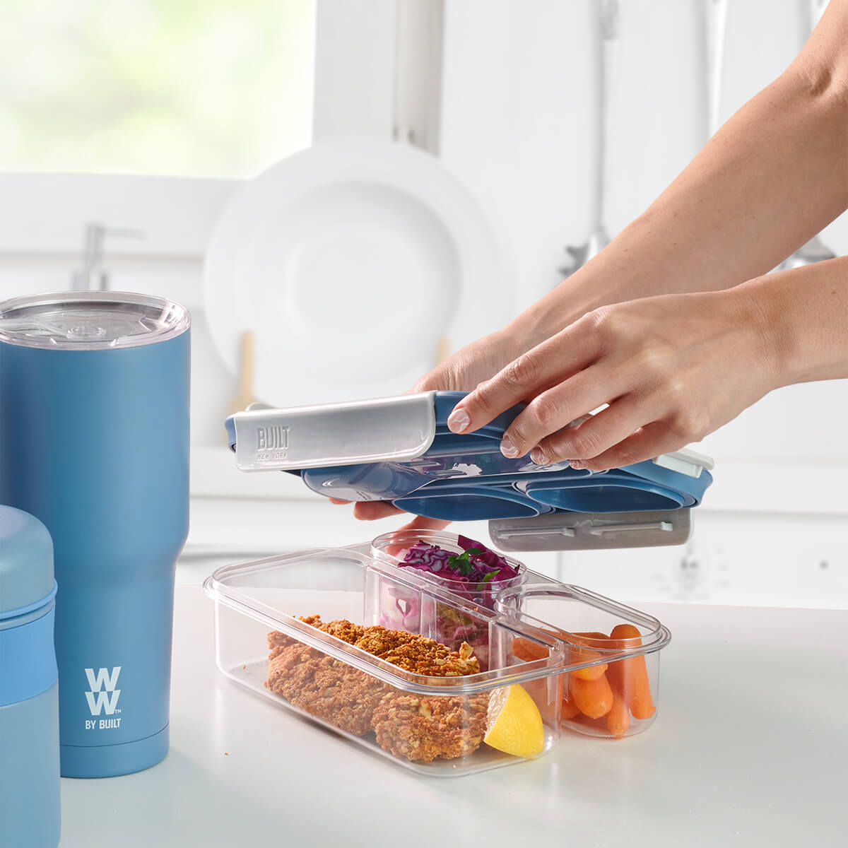 WW by Built 3 Compartment Container - lifestyle
