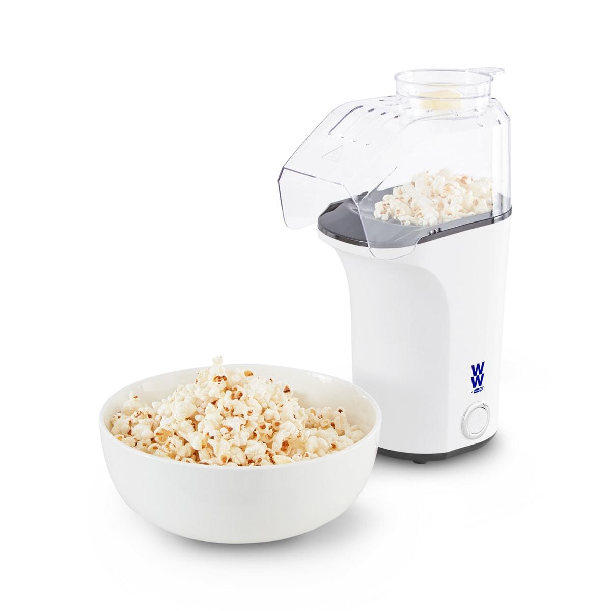 WW by Dash Fresh Pop Popcorn Maker with popcorn